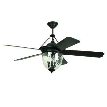 "Craftmade Cavalier 52"" Ceiling Fan in Aged Bronze Brushed"