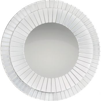 """Quoizel Muse 35.75"""" Mirror in White"""