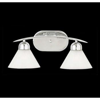 Quoizel Demitri 2-Light Bath Light in Chrome