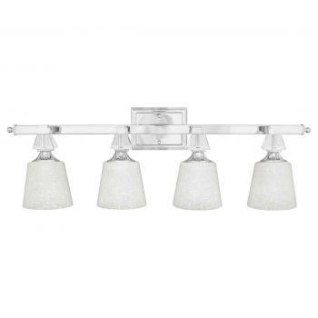 Quoizel Deluxe 4-Light Bath Light in Chrome