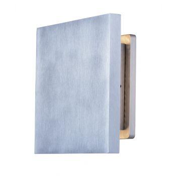 "ET2 Alumilux AL 6"" Outdoor Wall Mount in Satin Aluminum"