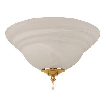 """Craftmade Accessory 13"""" 2-Light Fan Light Kit in Brass"""