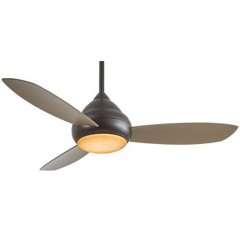 """Minka-Aire Concept l Wet 52"""" LED Ceiling Fan in Oil Rubbed Bronze"""