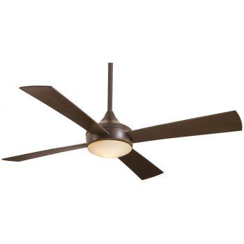 Minka-Aire Aluma Wet Ceiling Fan in Oil Rubbed Bronze