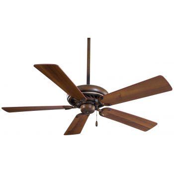 """Minka-Aire Supra 52"""" Ceiling Fan in Belcaro Walnut"""