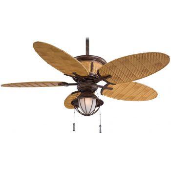 Minka-Aire Shangri-La Ceiling Fan in Vintage Rust