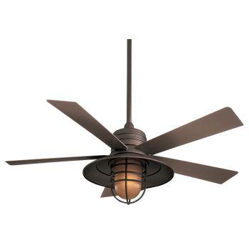 "Minka-Aire Rainman 54""  Indoor/Outdoor Ceiling Fan in Oil Rubbed Bronze"