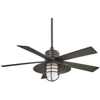 "Minka-Aire Rainman 54"" Indoor/Outdoor Ceiling Fan in Smoked Iron"