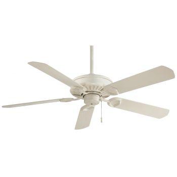 Minka-Aire Sundowner Ceiling Fan in Bone White