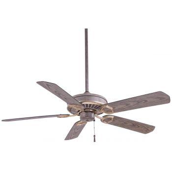 """Minka-Aire Sundowner 54"""" Ceiling Fan in Driftwood"""