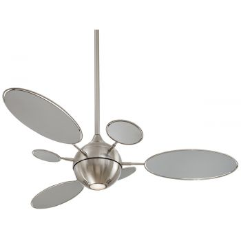 Minka-Aire Cirque Ceiling Fan in Brushed Nickel