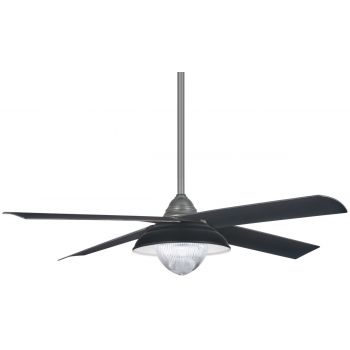 "Minka-Aire Shade 56"" Ceiling Fan in Grey Iron"