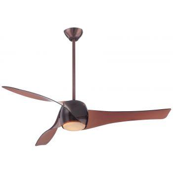 """Minka-Aire Artemis 58"""" LED Ceiling Fan in Copper Bronze"""