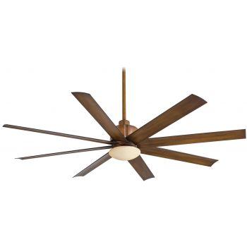 "Minka-Aire Slipstream 65"" Indoor/Outdoor Ceiling Fan in Distressed Koa"