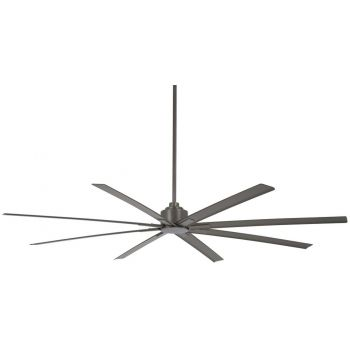 "Minka-Aire Xtreme H2O 84"" Indoor/Outdoor Ceiling Fan in Smoked Iron"