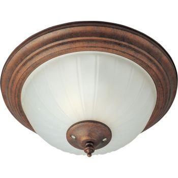 Maxim Lighting Basic-Max 2-Light 2-Light Ceiling Fan Light Kit in Satin Nickel