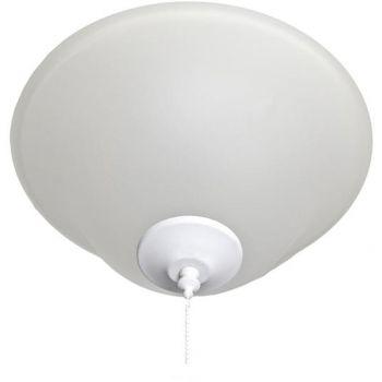 Maxim Lighting Basic-Max 3-Light Ceiling Fan Light Kit in Matte White
