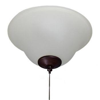 Maxim Lighting Basic-Max 3-Light Ceiling Fan Light Kit in Oil Rubbed Bronze