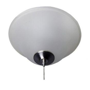 Maxim Lighting Basic-Max 3-Light Ceiling Fan Light Kit in Satin Nickel