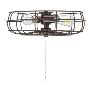 "Savoy House Ratcliffe 15.75"" 3-Light Fan Light Kit in English Bronze"
