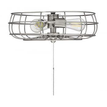 "Savoy House Ratcliffe 15.75"" 3-Light Fan Light Kit in Brushed Pewter"