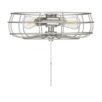 "Savoy House Ratcliffe 15.75"" 3-Light Fan Light kit in Satin Nickel"