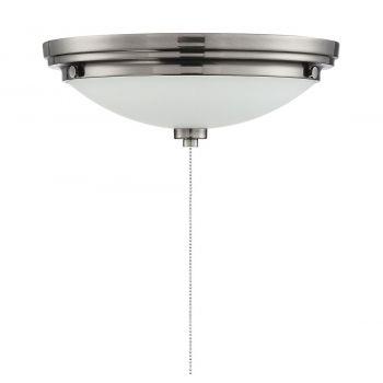 "Savoy House Lucerne 12"" LED White Opal Fan Light Kit in English Bronze"