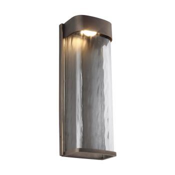 Feiss Bennie Large LED Outdoor Wall Lantern in Antique Bronze