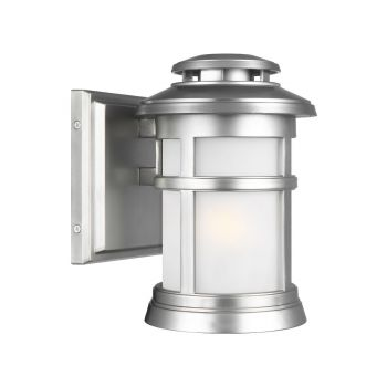 Feiss Newport Nautical Outdoor Wall Lantern in Painted Brushed Steel