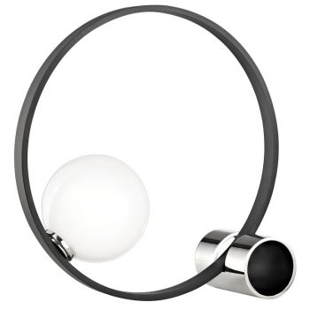 "Mitzi Zena 18"" Table Lamp in Polished Nickel"