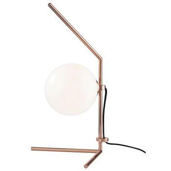 "Mitzi Tori 19.75"" Table Lamp in Polished Copper"