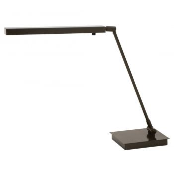 """House of Troy Horizon Task 19"""" LED Desk Lamp in Architectural Bronze"""