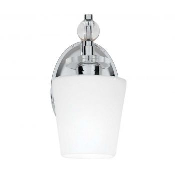 "Quoizel Hollister Classic 5"" Bathroom Wall Sconce in Chrome"