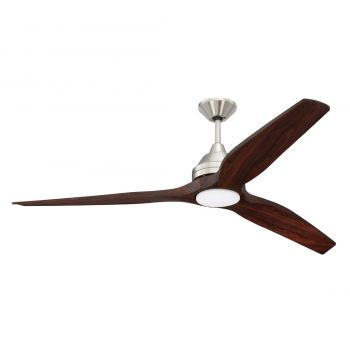 """Craftmade Limerick 60"""" Ceiling Fan in Brushed Polished Nickel"""