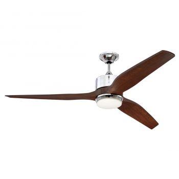 "Craftmade Mobi 60"" Ceiling Fan in Chrome"
