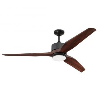 "Craftmade Mobi 60"" Ceiling Fan in Oiled Bronze"