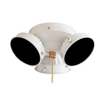 Minka-Aire 3 Bulb Light Kit in White