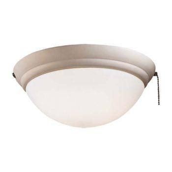 Minka-Aire 1 Bulb Light Kit in Bone White