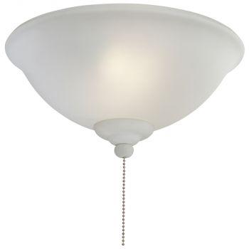 Minka-Aire 2 Bulb Light Kit in White