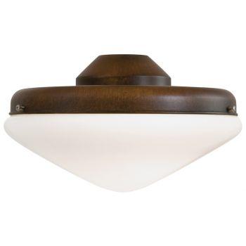 Minka-Aire 2 Bulb Light Kit in Mossoro Walnut