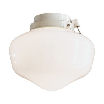 Minka-Aire 1 Bulb Light Kit in White