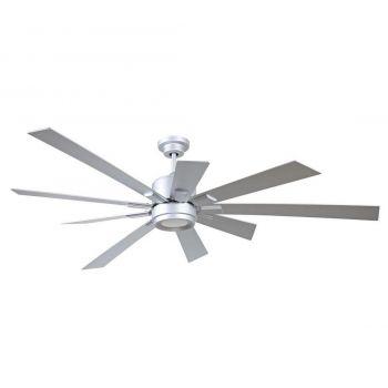 "Craftmade Katana 72"" Ceiling Fan w/ Titanium Blades in Titanium"