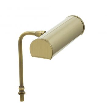 """House of Troy Advent 7.25"""" LED Lectern Lamp in Antique Brass"""