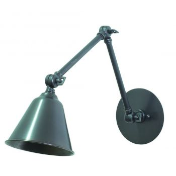 "House of Troy Library 11"" Adjustable LED Wall Lamp in Oil Rubbed Bronze"