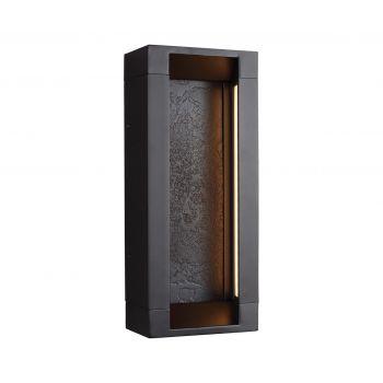 Feiss Mattix 2-Light ADA Outdoor LED Wall in Oil Rubbed Bronze