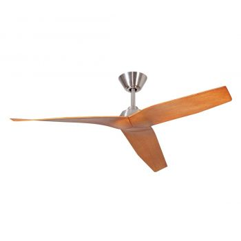 "Craftmade Pireos 48"" Ceiling Fan with Blades in Brushed Polished Nickel"