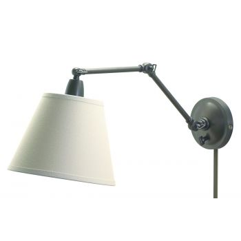 "House of Troy 20"" Library Lamp in Oil Rubbed Bronze Finish"
