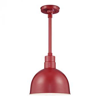 Millennium Lighting R Series 1-Light Deep Bowl Shade in Satin Red