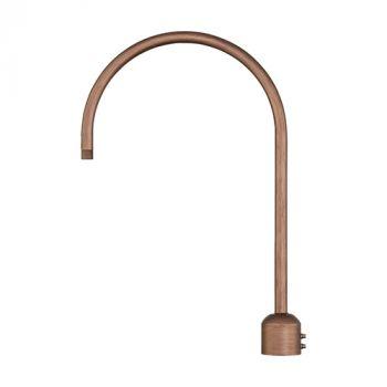 Millennium Lighting R Series Exterior Post Adapter in Copper