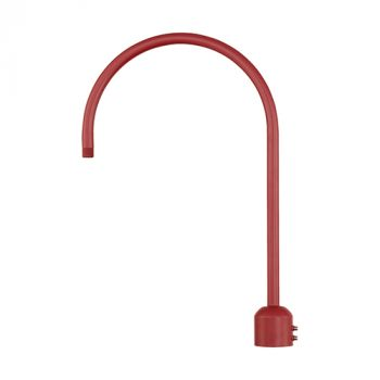 Millennium Lighting R Series Exterior Post Adapter in Satin Red